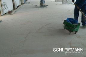 Schleifmann, steinsanierung, untergrundvorbereitung, schleifen naturstein, estrich, holz, beton, sichtbeton, sichtestrich, parkett, asphalt,