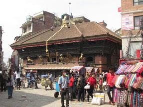 Akash Bhairab Tempel