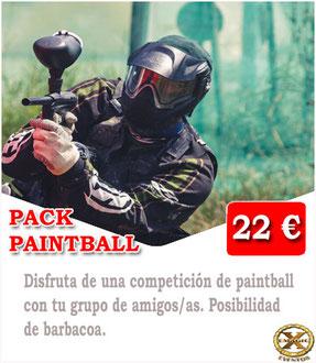 Jugar al paintball en Lanzarote