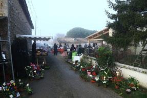 marché à la ferme de la pérotonnerie de Rom