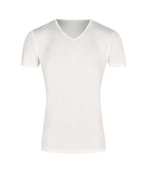 VINZ silkwear Herren T-Shirt aus reiner Bio-Seide. T-Shirt Men's Classics.
