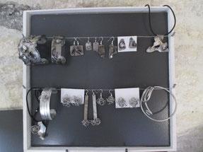 bijoux en inox travaillés à l'électrode ou en fil inox