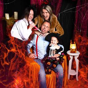 vrouw Halloween-pak