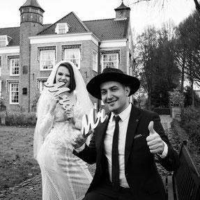 paraplu bruiloft