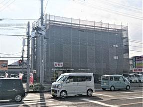 岐阜県関市 激安外壁塗装工事中