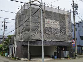 施工中(岐阜県岐阜市 外壁塗装&屋根防水)