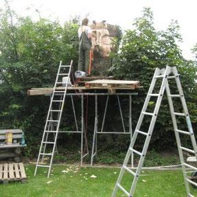 Skulptur Hans Esche 2012, Bildhauerei Hans Jannsen
