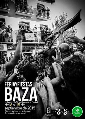 Feria y Fiestas de Baza 2015 Cartel y Programa