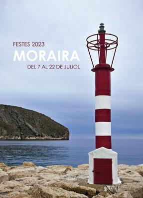 Cartel y programa de las Fiestas de Moraira 2015