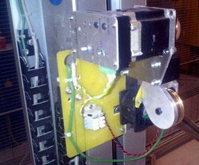 PC-CUT5000 umgerüstet mit  WTU01 und aktiver Drahtkühlung