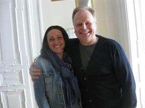Simone mit Herbert Grönemeyer