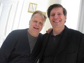 Herbert Grönemeyer mit Manfred Leodolter
