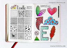 Doodles. Doodler, Doodling, tutorial, anleitung, Sketchbook, Sketchnotes, visual vocabulary, visuelles wörterbuch, scribble, Sketch, Inspiration, Idea, Ideen, How to draw, step by step, schritt für schritt, malen, kids, kinder, zeichnen, pattern, muster