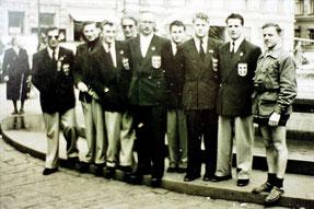 Olympiateilnehmer Saarland 1952 Helsinki - Turnerriege