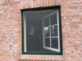 Spannrahmen für jeden Fenstertyp und in allen Ral Farben. Mit Standard oder Pollenschutz, Klarsicht Fiberglasgewebe zu bekommen.