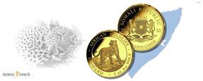 african wildlife leopard gold silber münzen kaufen preis adelshaus