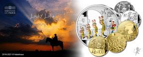 lucky luke 2021 gold silber euro adelshaus