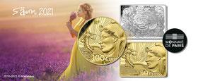 la semeuse 2021 starterkit  säerin euro adelshaus