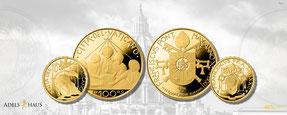 Vatikan 2020 münzen euro gold silber neuausgaben adelshaus