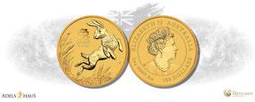 Tiger year of the tiger adelshaus jahr des tigers 2022 gold goldmünzen günstig kaufen