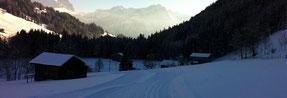 Langlaufloipe Gsteig-Feutersoey-Gstaad