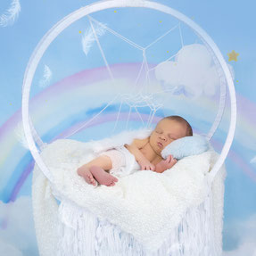 noworodek czapka