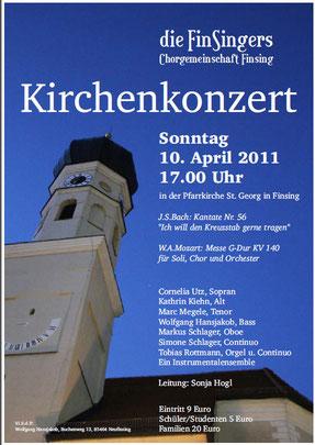 Kirchenkonzert 2011