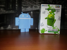 Robot Android Altavoz 2