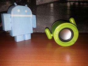 Robot Android Altavoz 6