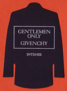 2014 - GRANDE CARTE REPLIQUE GENTLEMEN ONLY