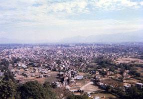 カトマンドゥ市街