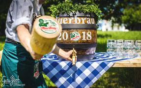 Bieranstich AuerBräu Gaufest 2018 Lauterbach Trachtenverein