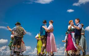 Boarischer Tanz Franz Posch Hallgrafen Gaufest 2018 Trachtenverein Lauterbach