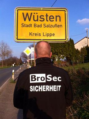 In OWL und Umgebung - Brosec Sicherheitsdienst