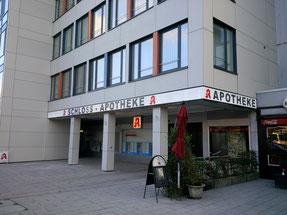 Fertige Fassade mit Lichtband - rechter Teil