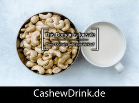 CashewDrink.de - this domain is for sale
