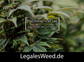 LegalesWeed.de - this domain is for sale