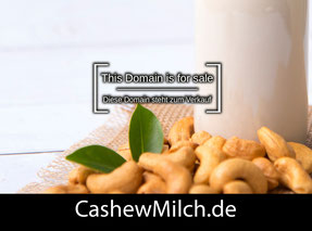 CashewMilch.de - this domain is for sale