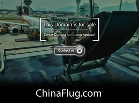 ChinaFlug.com - this domain is for sale