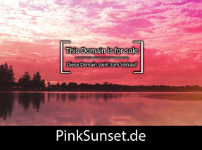 PinkSunset.de - this domain is for sale