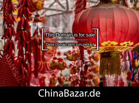 ChinaBazar.de - this domain is for sale