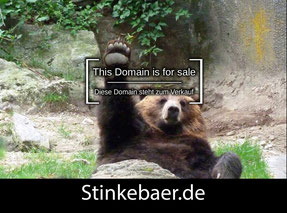 Stinkebaer.de- this domain is for sale