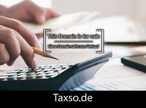 Taxso.de - this domain is for sale