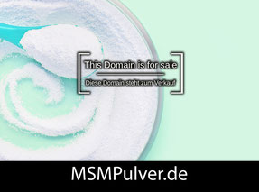 MSMPulver.de - this domain is for sale