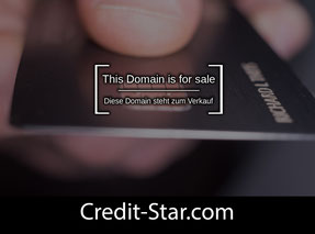 Credit-Star.com - this domain is for sale