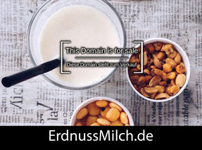 ErdnussMilch.de - this domain is for sale