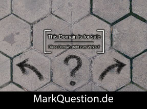 MarkQuestion.de - this domain is for sale