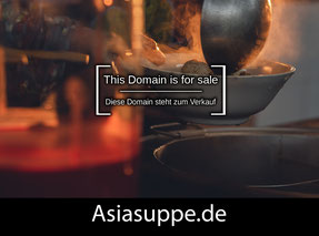 AsiaSuppe.de - this domain is for sale