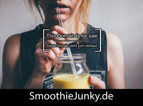 SmoothieJunky.de - this domain is for sale