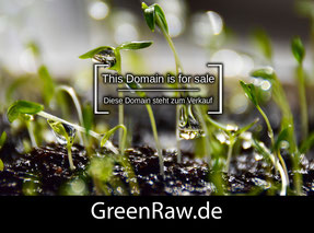 GreenRaw.de - this domain is for sale
